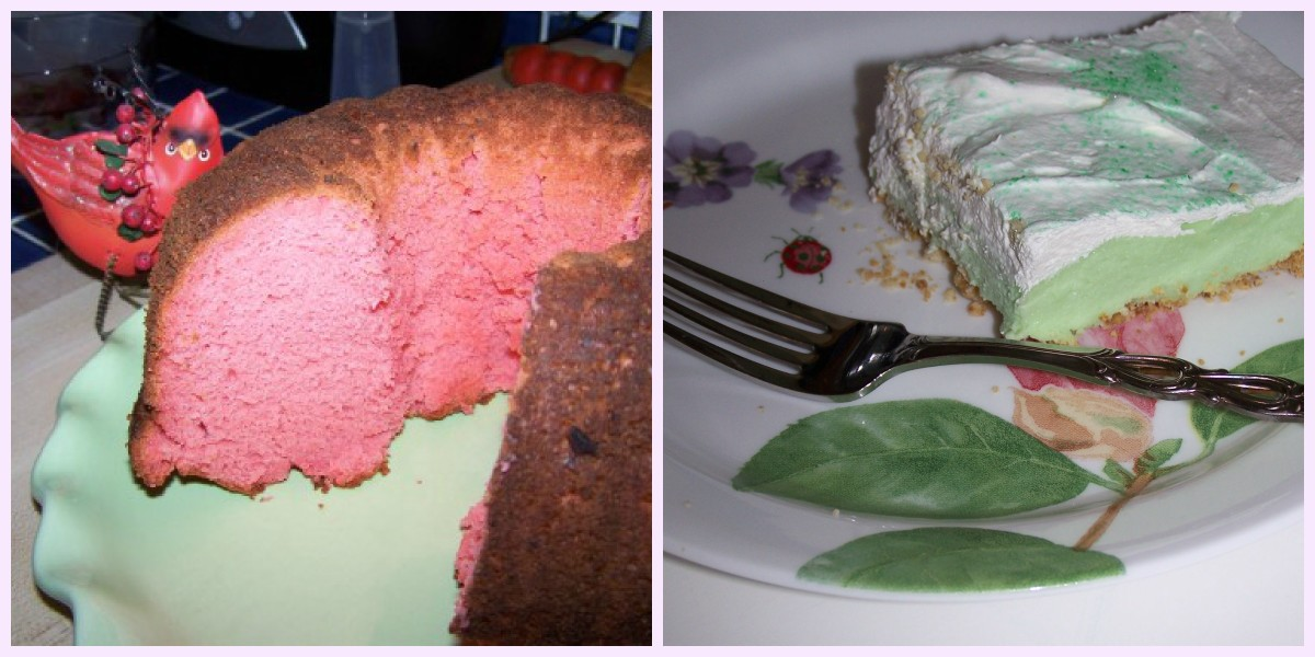 Five Jell-O Cakes, Luscious Raspberry Jell-O Bundt Cake Recipe.