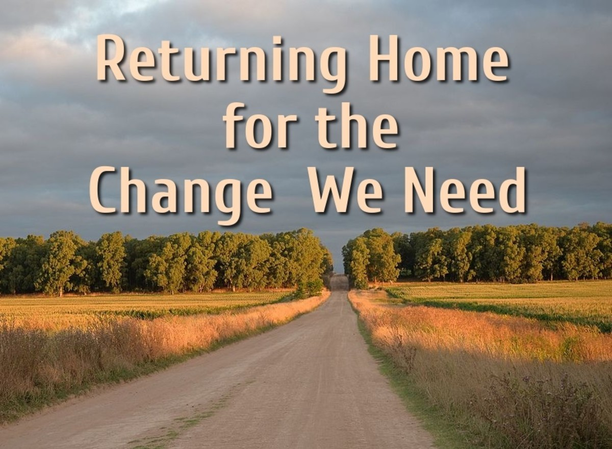 Returning Home for the Change We Need