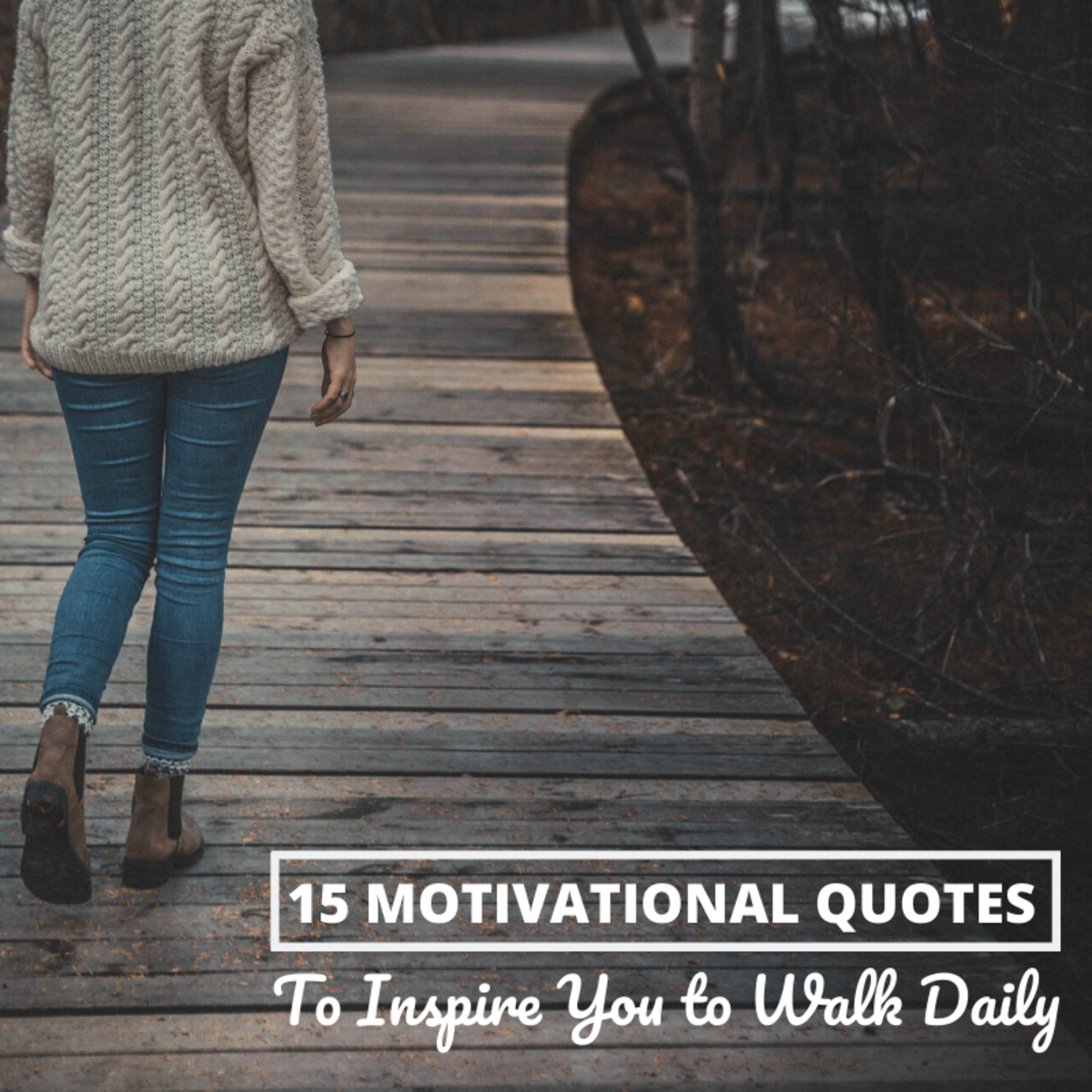 Walking is a healthy and rewarding habit. Here are some quotes to help you stay motivated to walk every day.