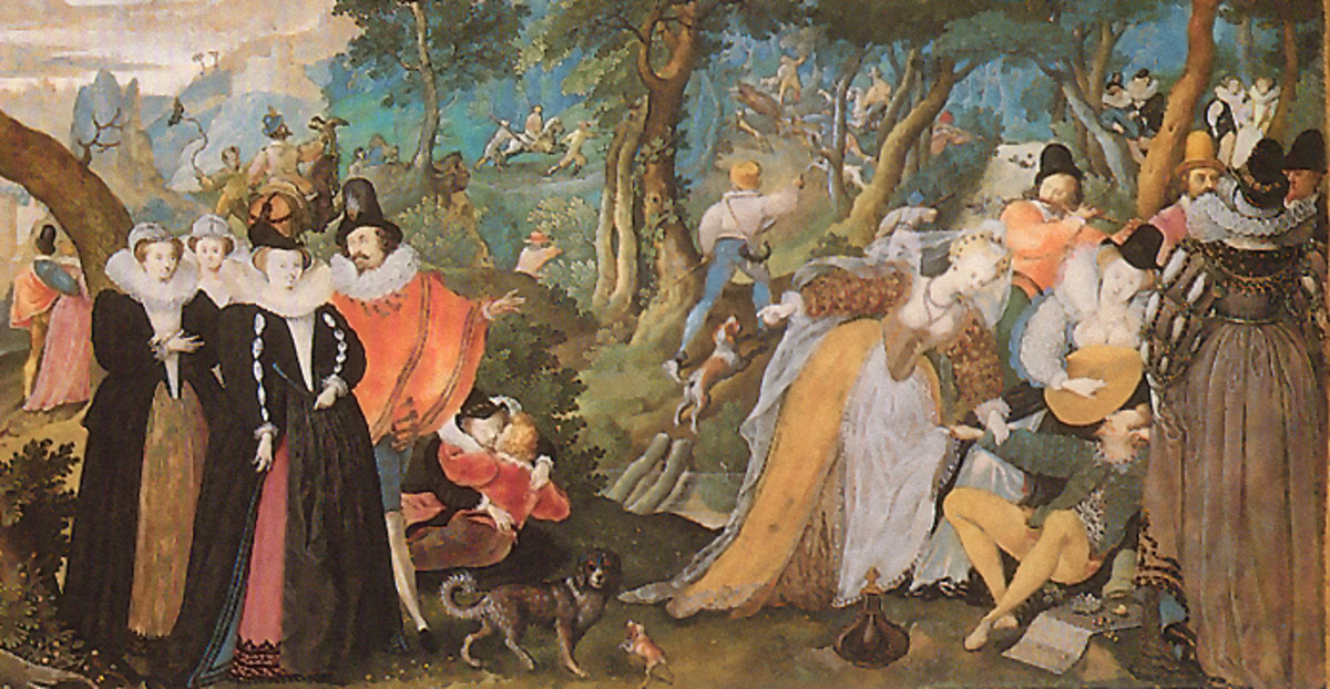 Isaac Oliver Allegory of Conjugal Love