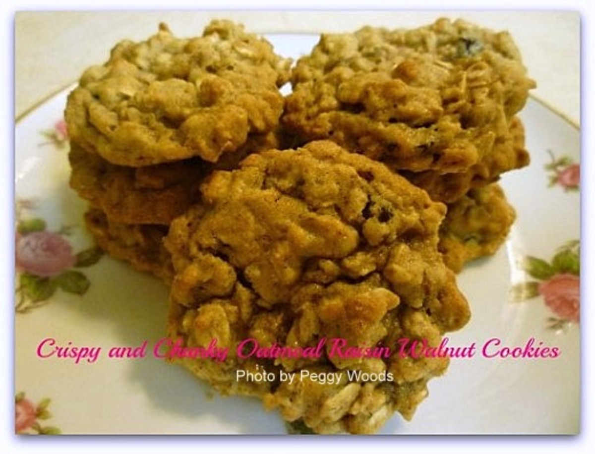 Healthy Oatmeal Cookies Recipe ~ Quaker Oats Oatmeal Cookies ~ Baking ~ Gifts