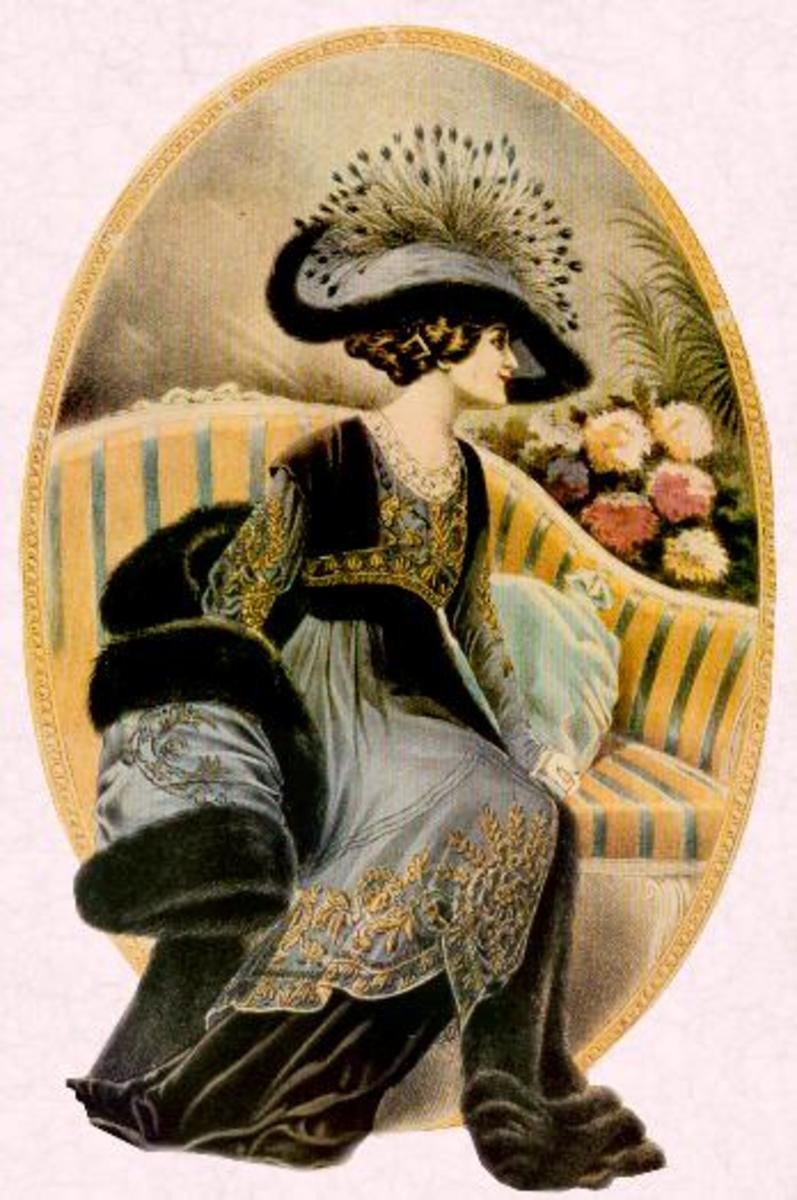 时尚史:1890年代至1914年后期的爱德华时代风格