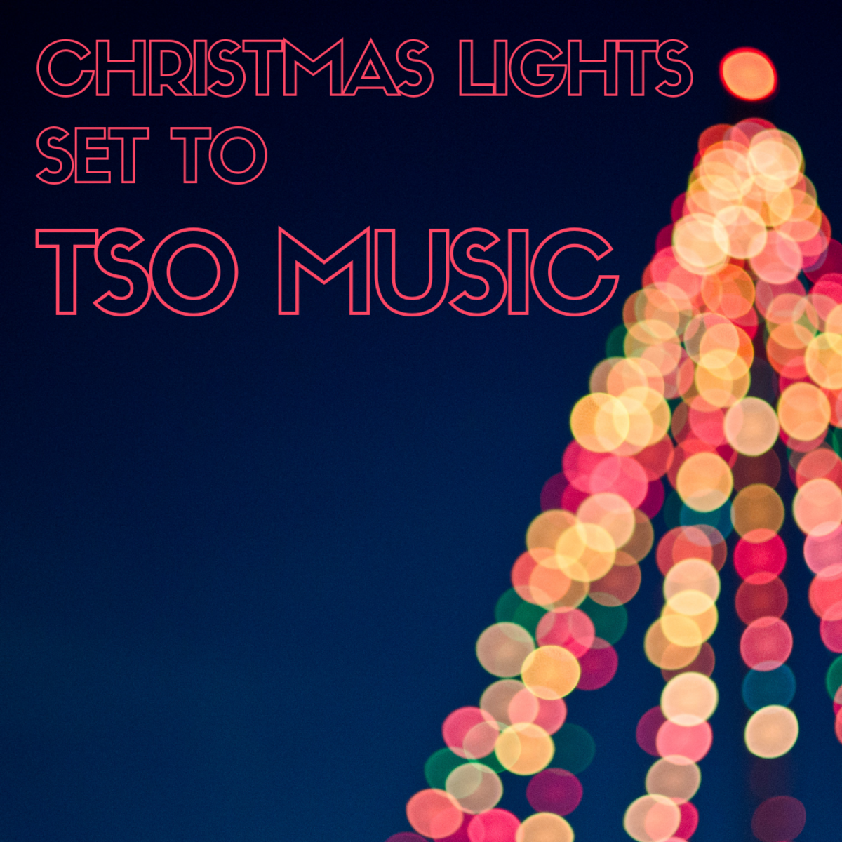 Christmas Lights Set to TSO