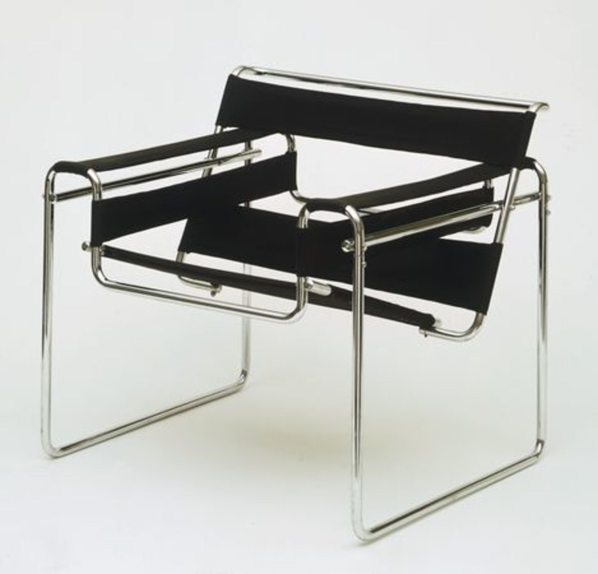 Marcel Breuer's revolutionary chair which he designed while still a student.