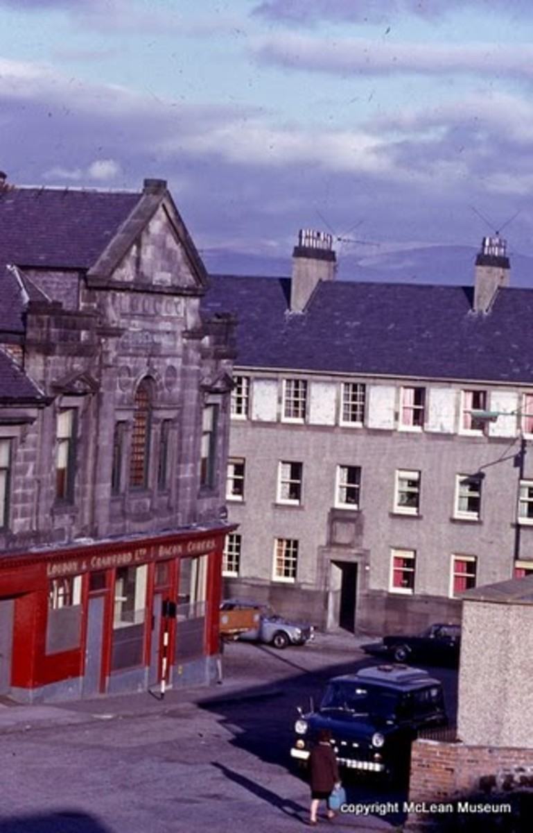 Greenock, Then and Now