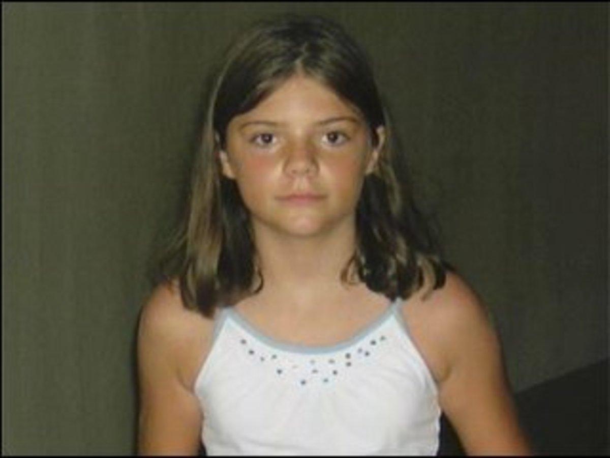 9-Year-Old Elizabeth Olten.