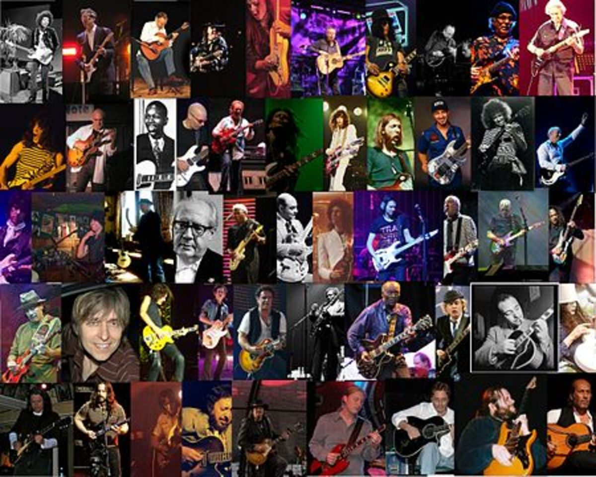 Ten Great Young Rock Guitarists