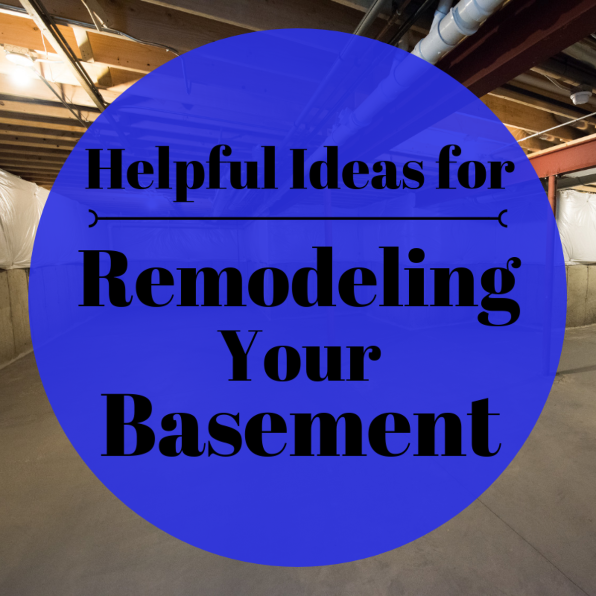 If you're thinking of remodeling your basement and need a little help getting the project off the ground, check out this helpful guide on low-cost basement finishing ideas!