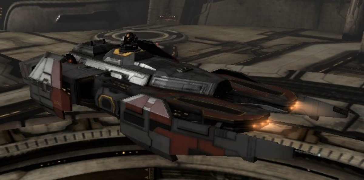 Eve Online: Anti-gank Barge fits