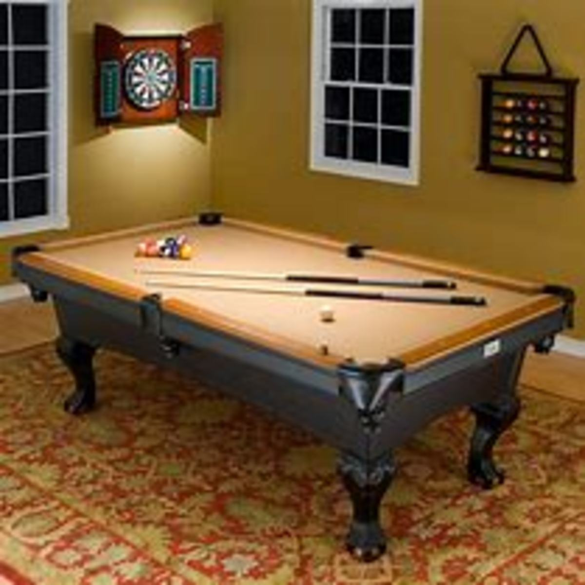 The Dinkleton Bars famous and timeless Pool Table. Comes complete with its own Dart Board and Pool Rack