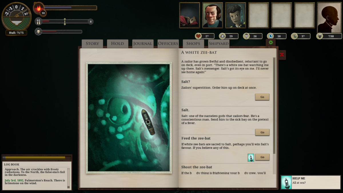 Sunless Sea Walkthrough: Random Events