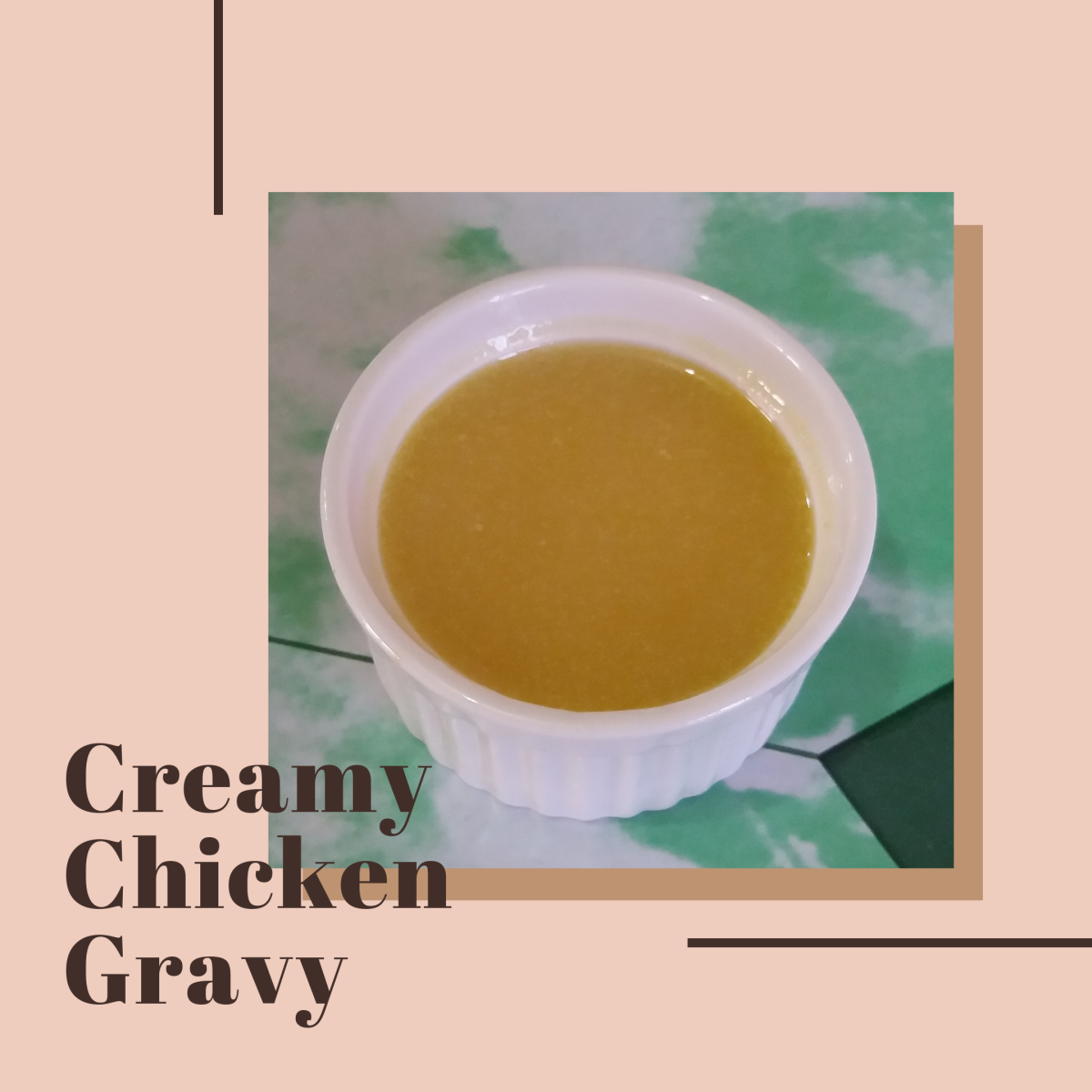 You don't need drippings to make this shortcut chicken gravy.