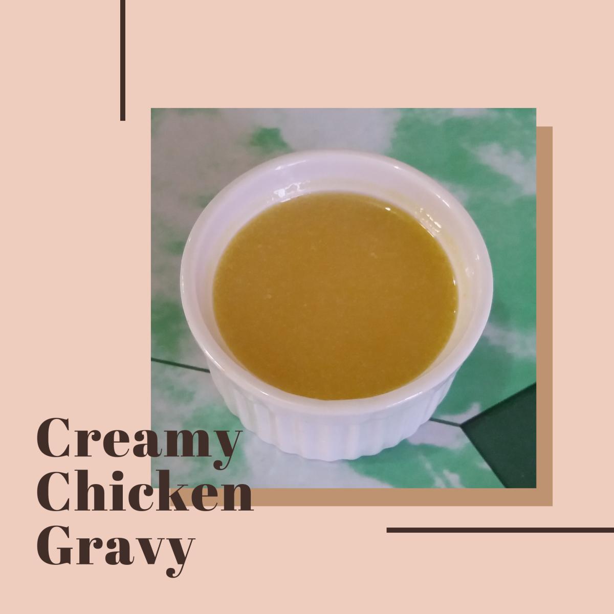 How to Make Creamy Chicken Gravy