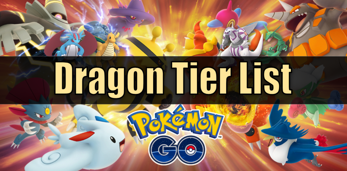 """Pokemon Go"" Dragon Type Tier List"