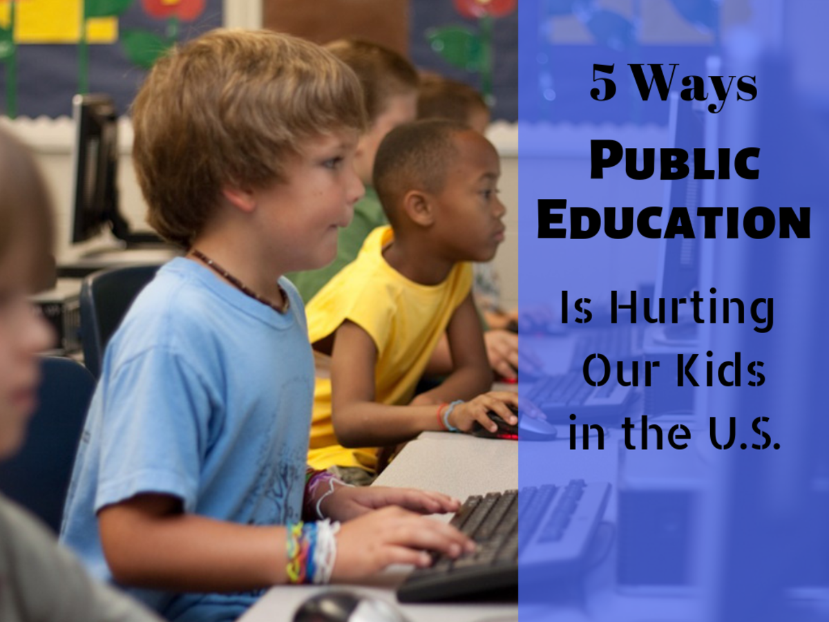 5 Ways U.S. Public Education Is Hurting Our Students
