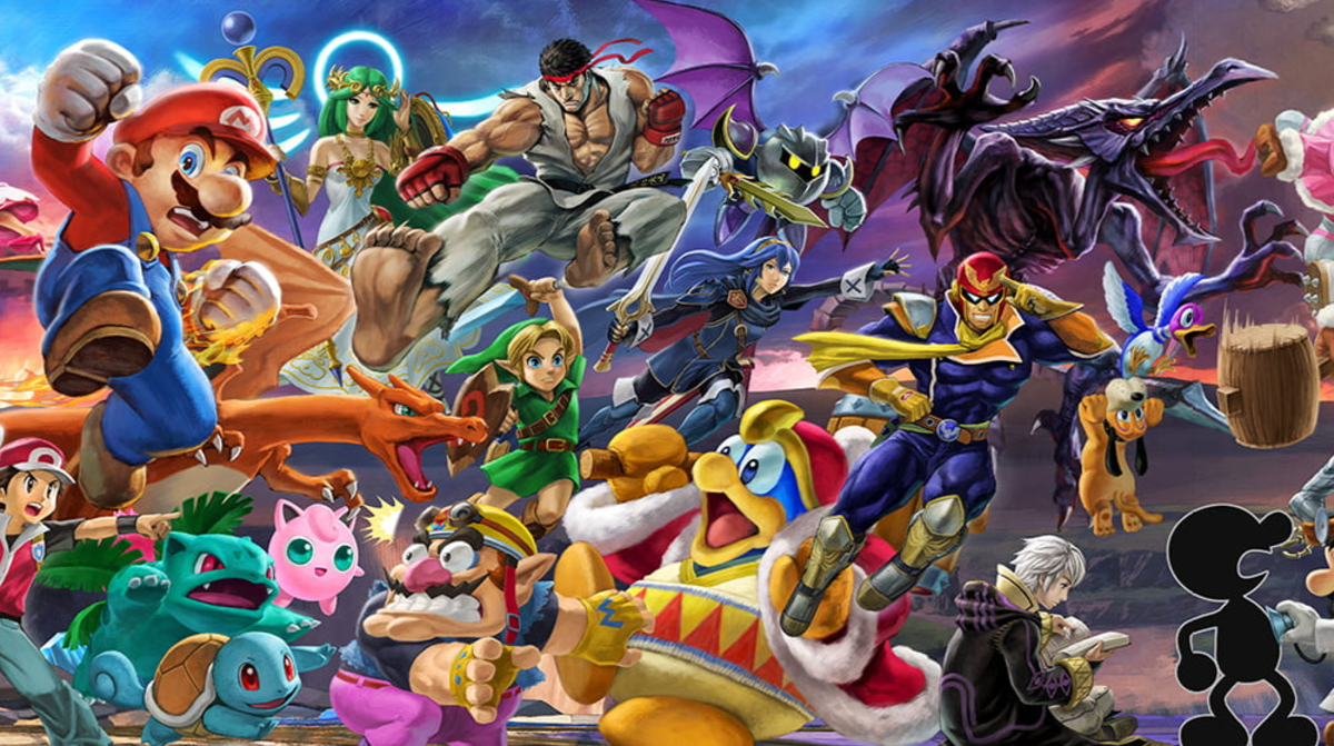 Players can choose from a variety of characters in Super Smash Bros. Ultimate.