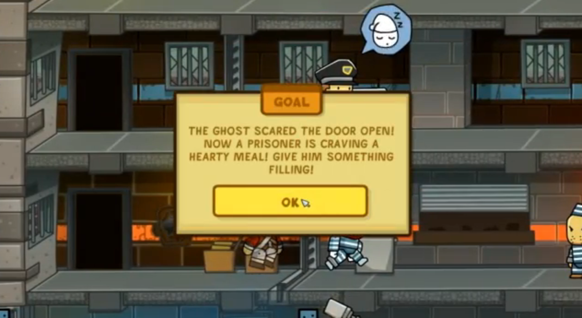 Scribblenauts Unlimited walkthrough: Payper N. Penitentiary and Payper Plains