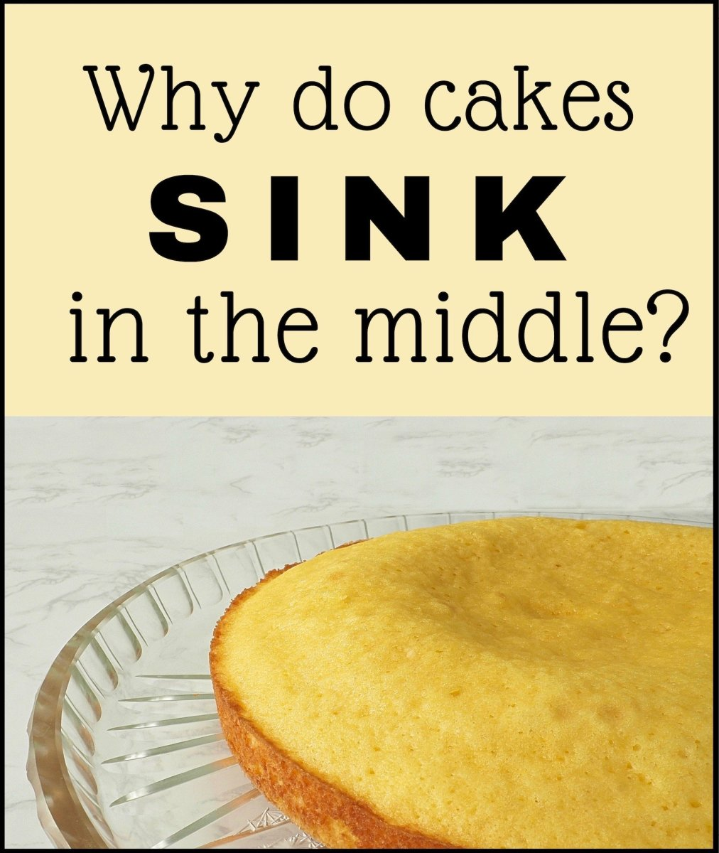 Why Cakes Sink in the Middle and How to Fix Them After They've Fallen