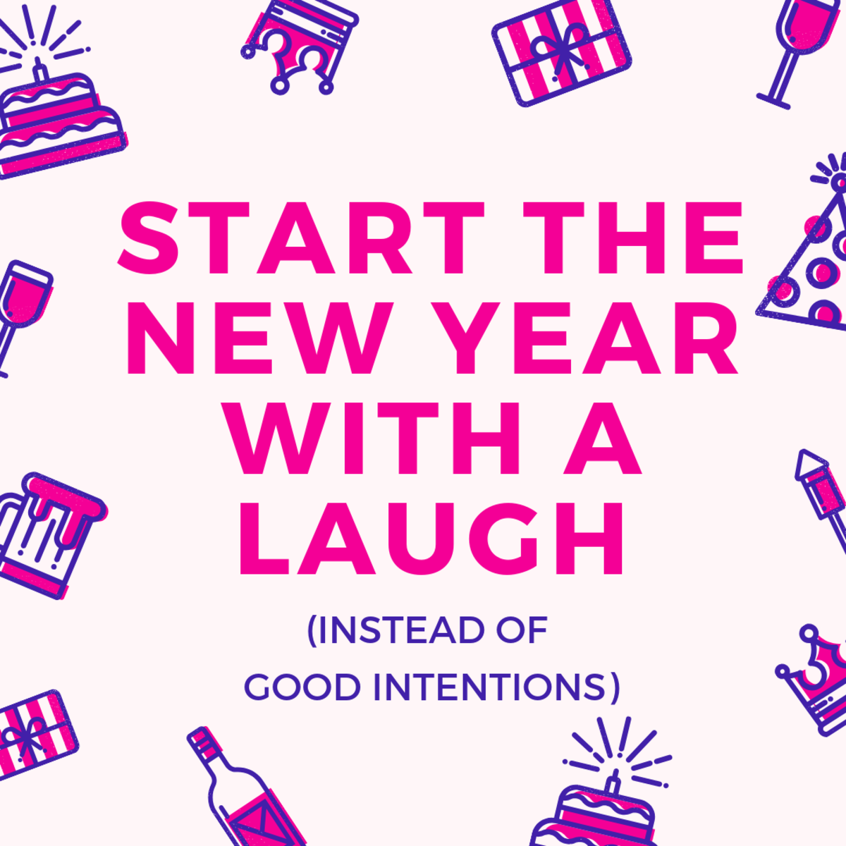 Why make real resolutions when you'll abandon them anyway?