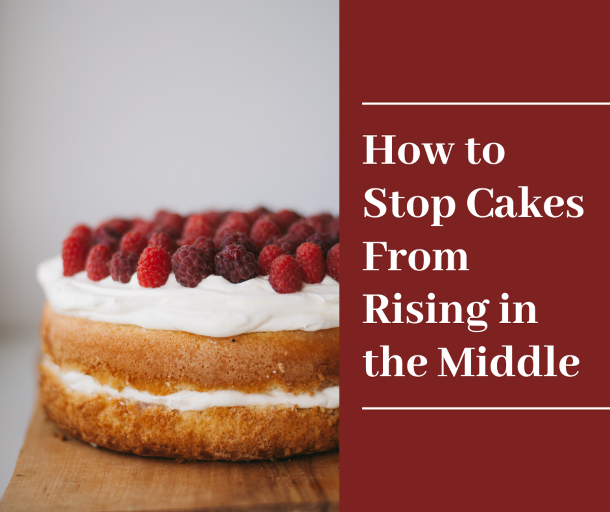 Baking Tips: How to Stop Cakes From Rising in the Middle