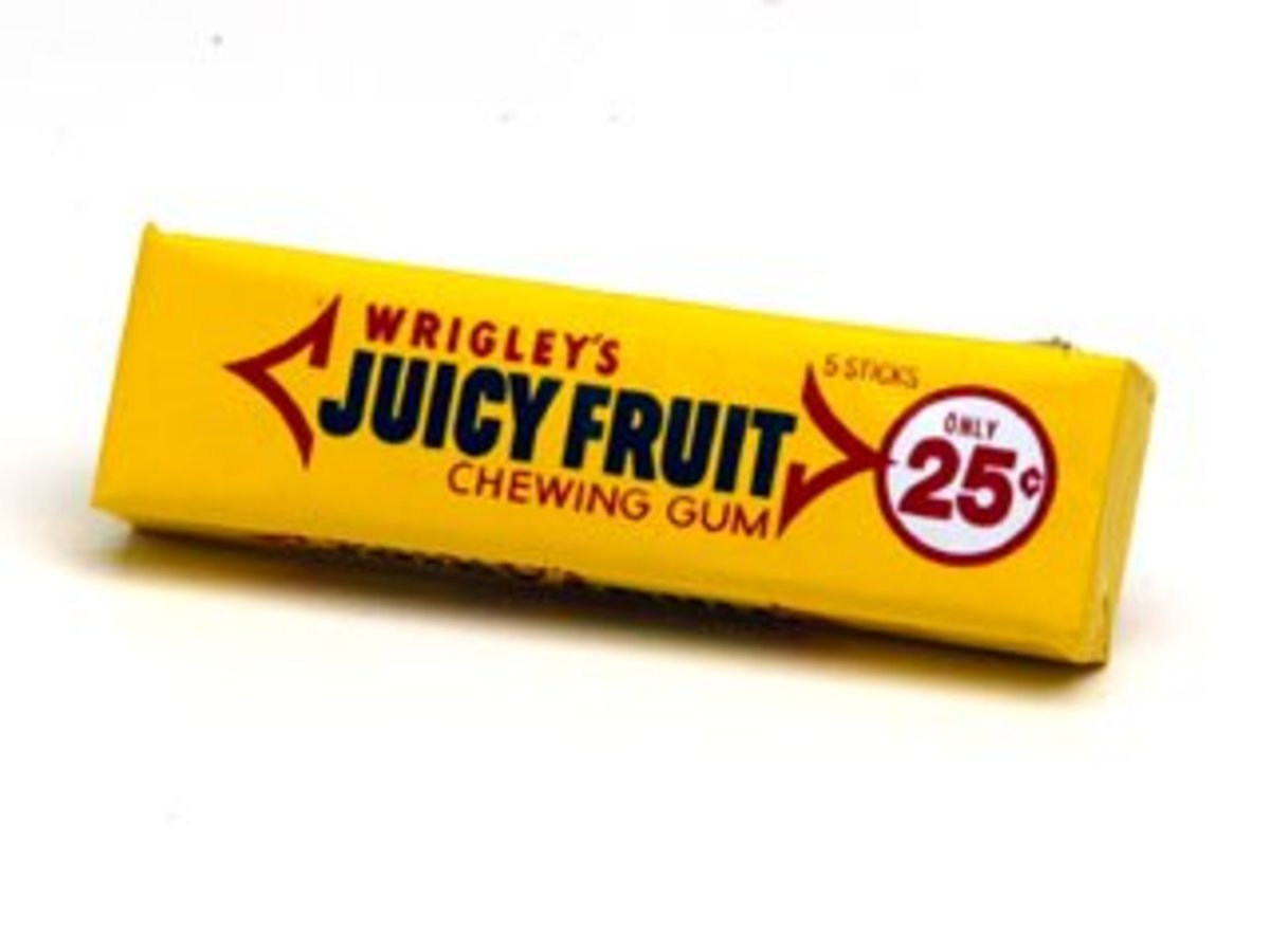 Wrigley's Juicy Fruit Gum Ingredients Explained