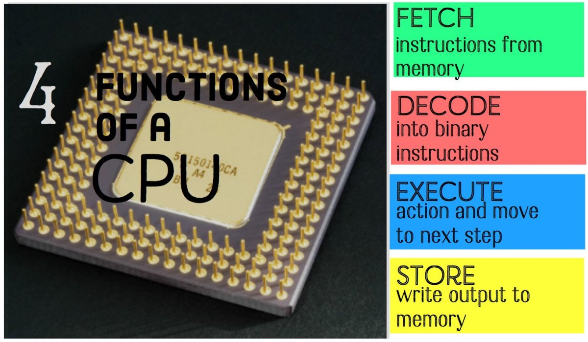 What Are the Main Functions of a CPU?