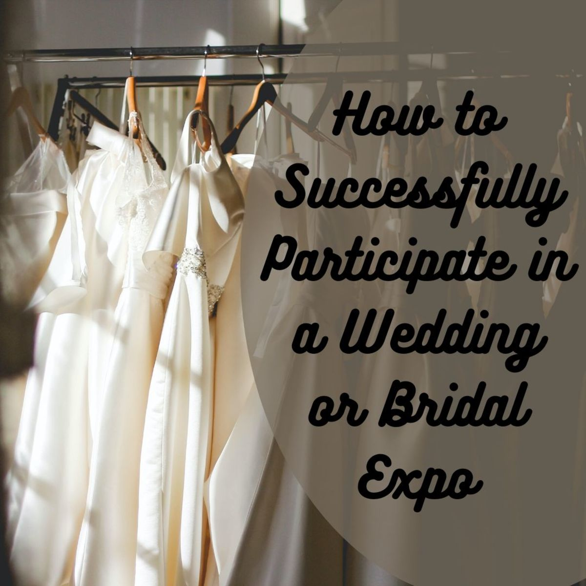 Learn all the tips and tricks you'll need to have a successful presence at a wedding or bridal expo or show.