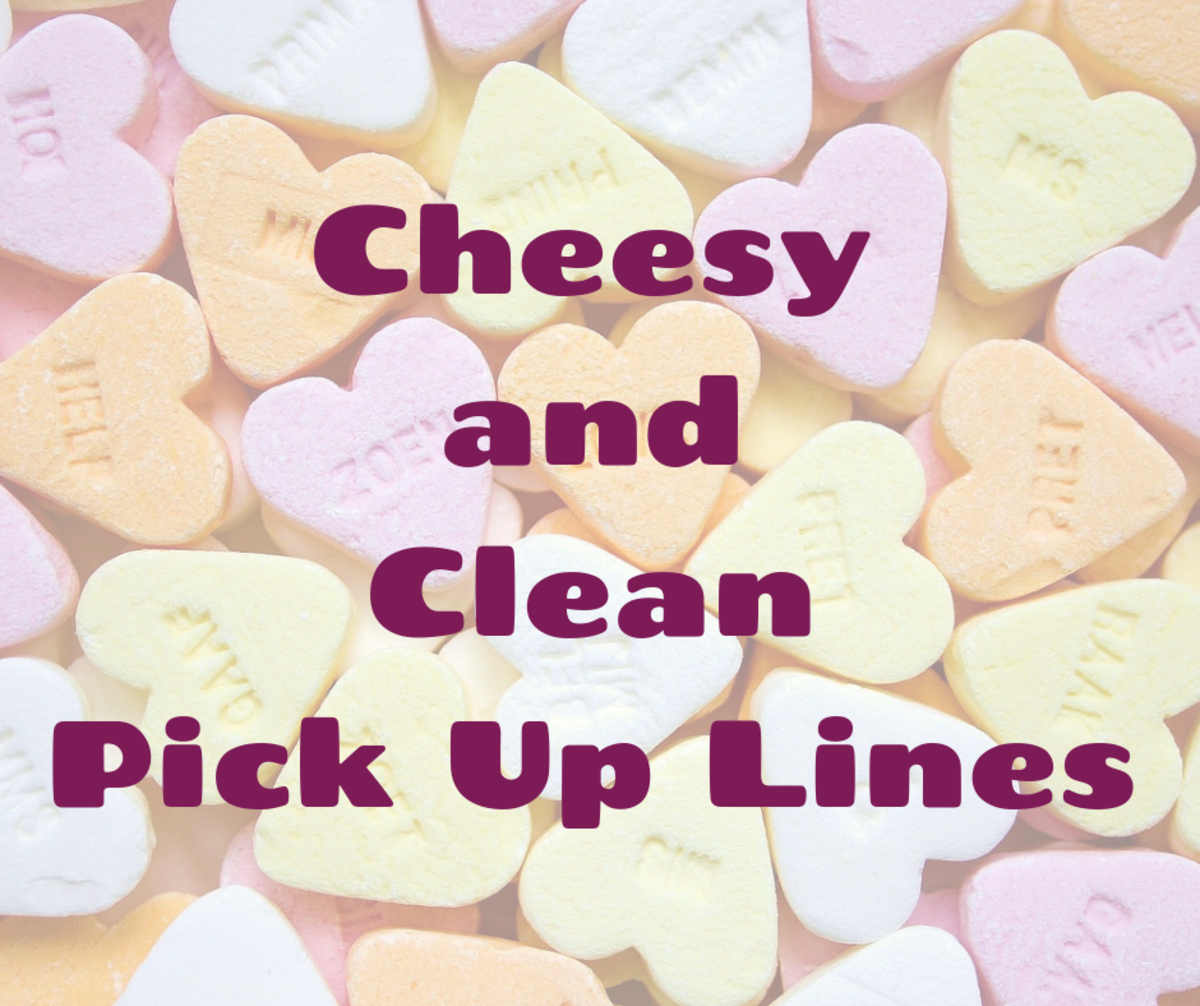 The Best Funny and Clean Pick Up Lines