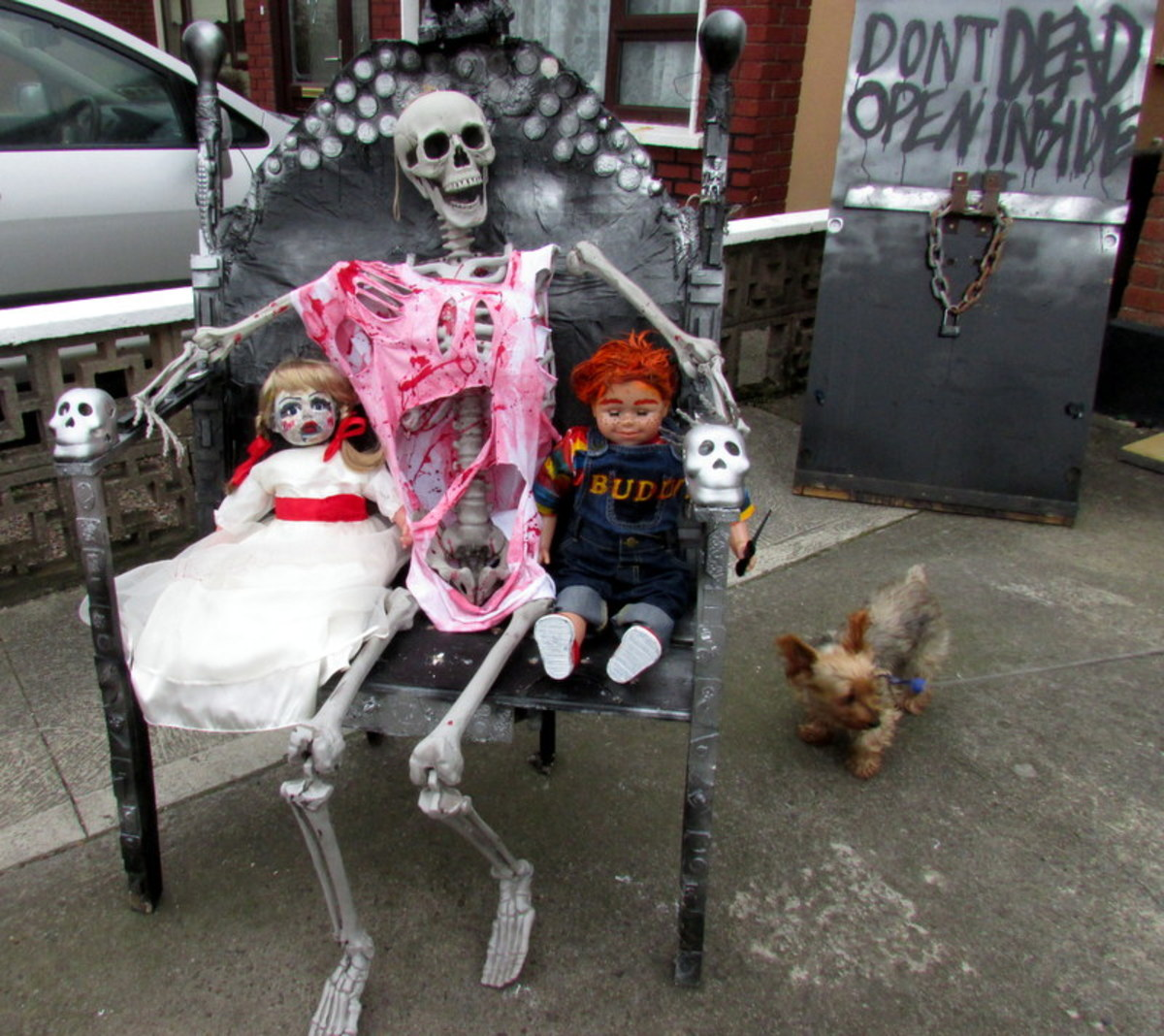 How to Make an Annabelle Doll for Your Halloween Display