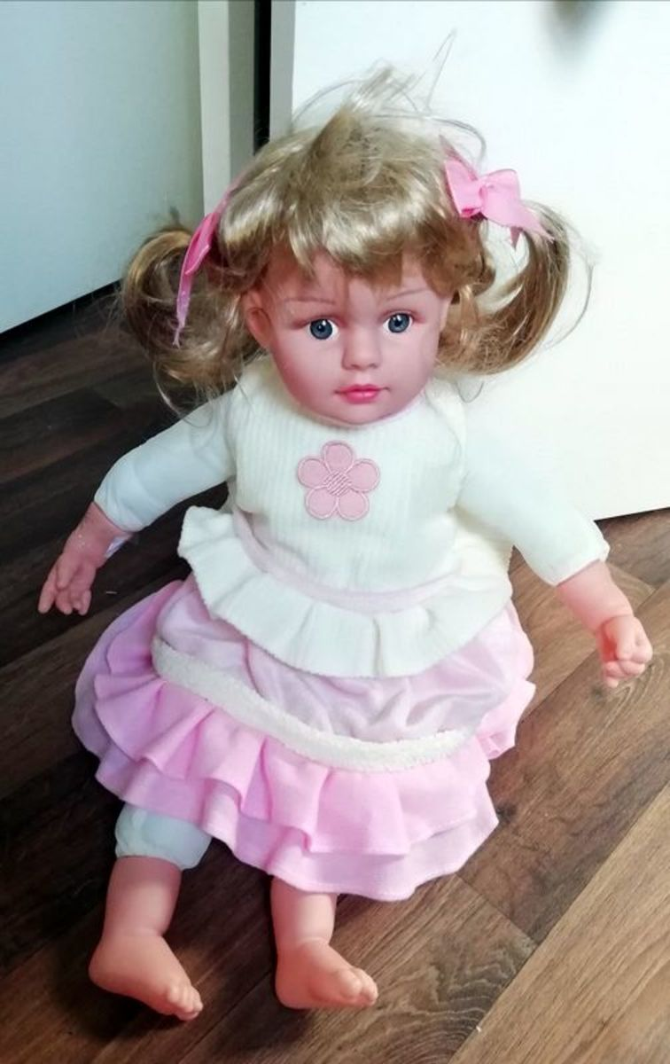 This is the doll I used for my Annabelle creation.