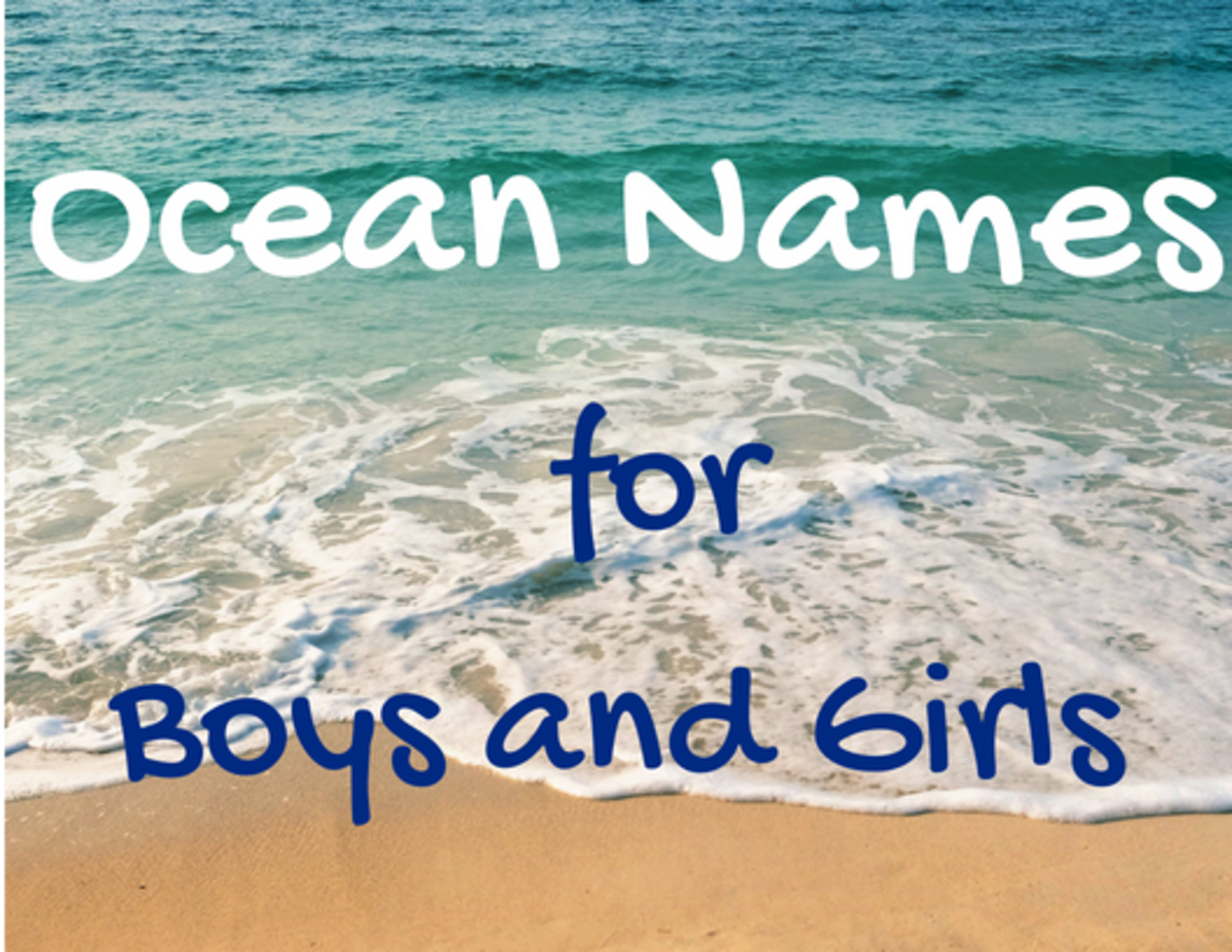 300+ Baby Names Inspired by the Ocean and Other Types of Water