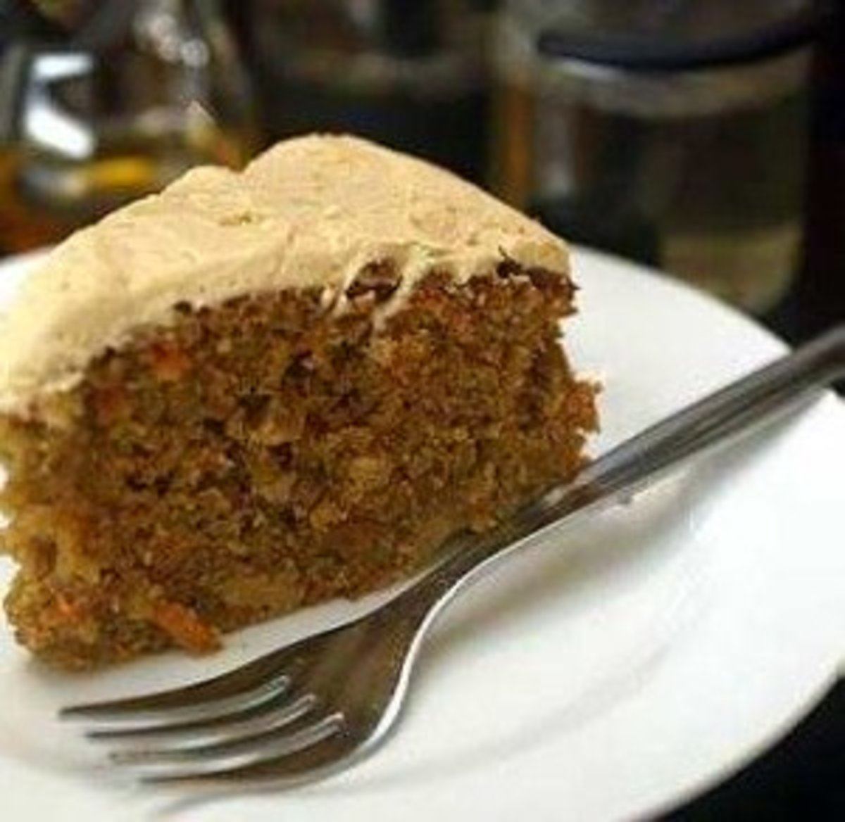 Best Low-Fat Carrot Cake Recipe (Use Grape Seed Oil Instead of Butter/Margarine)