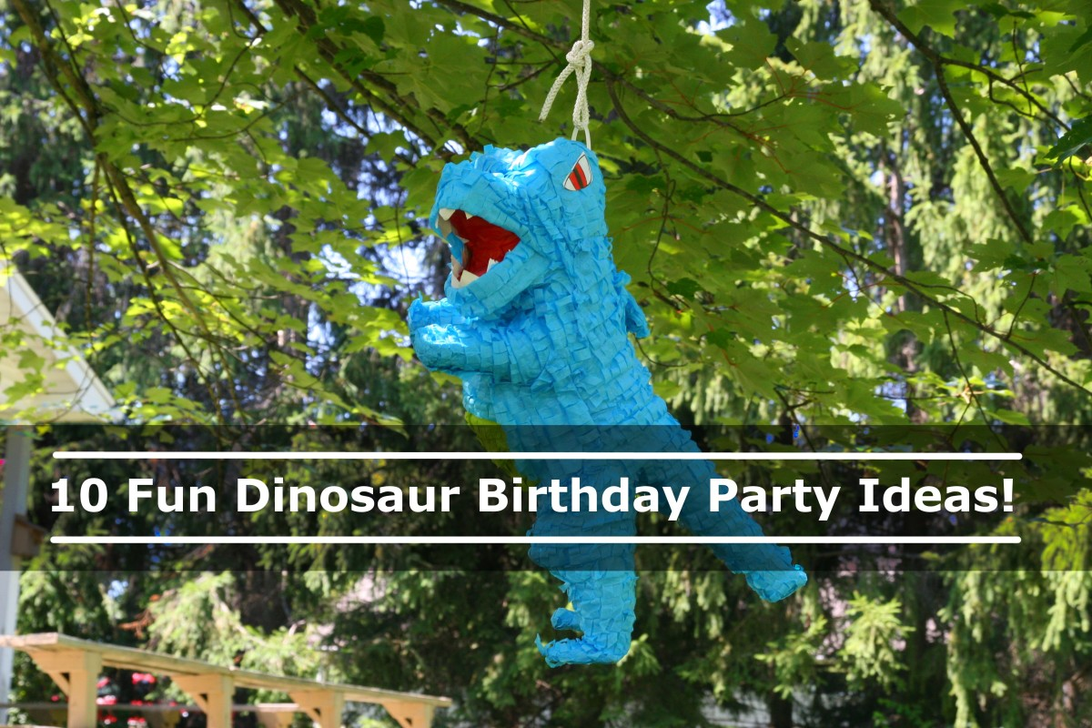 10 Fun Dinosaur Birthday Party Ideas and Activities