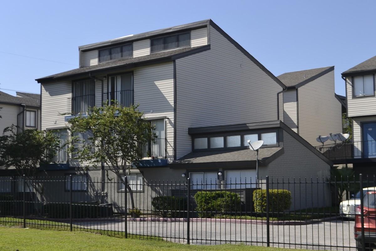 An apartment complex in Houston, Texas.