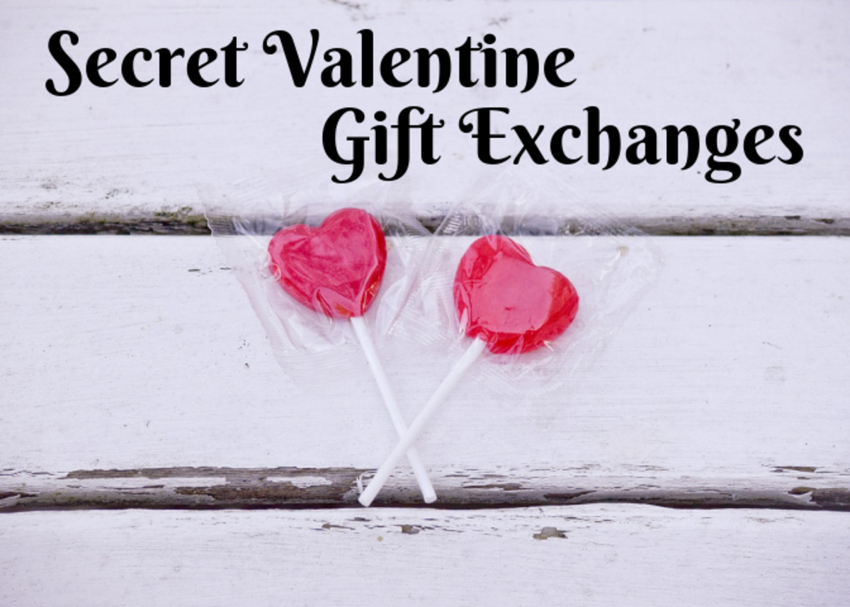 Learn how to host a Secret Valentine gift exchange. Heart-shaped candy would make a great gift!