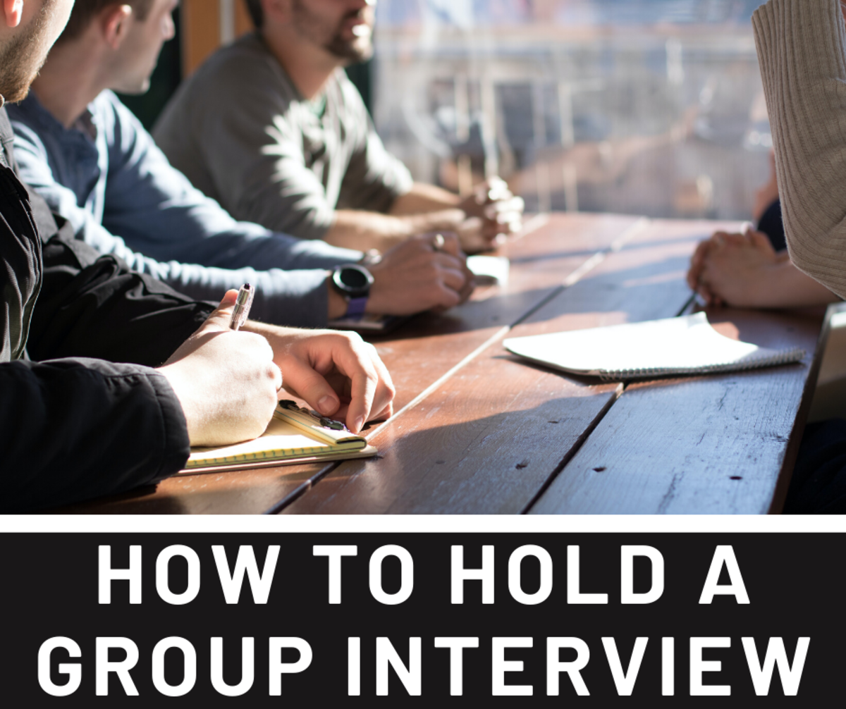 Read on to learn tips and tricks about how to conduct a group interview.