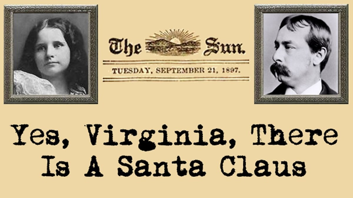 Yes, Virginia, There Is a Santa Claus. Thank God!