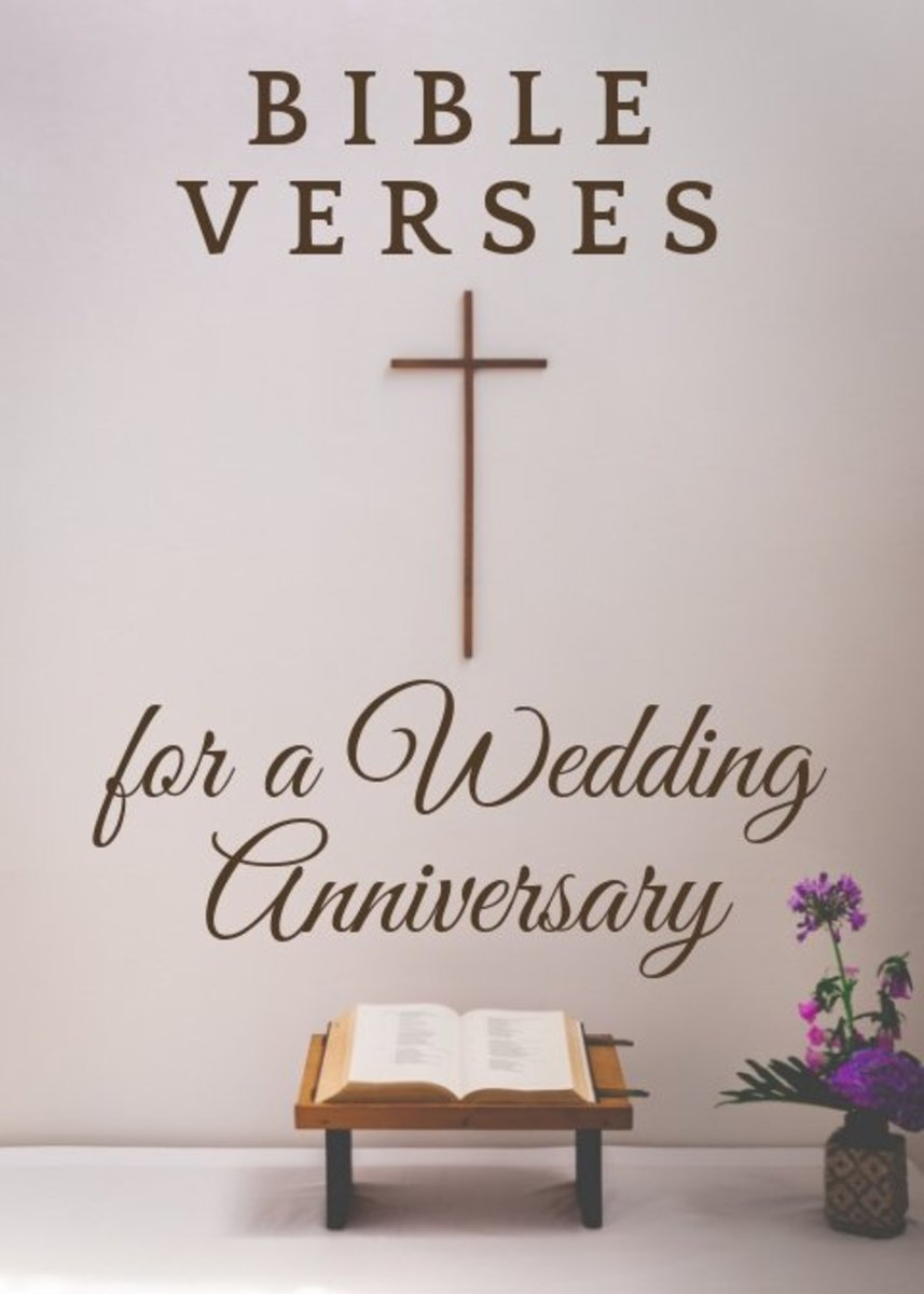10 Great Bible Verses And Scriptures For A Wedding Anniversary