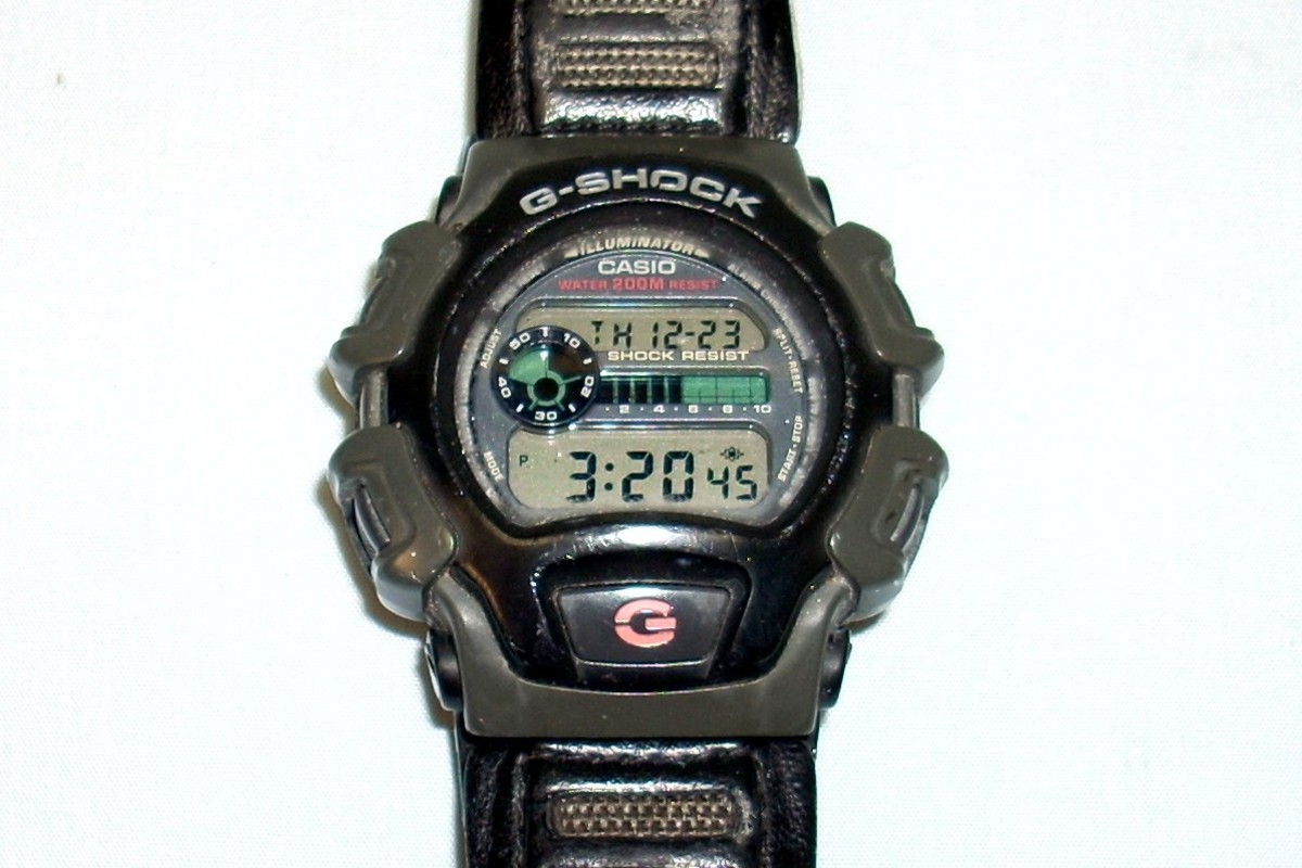 An old Casio G-shock Watch