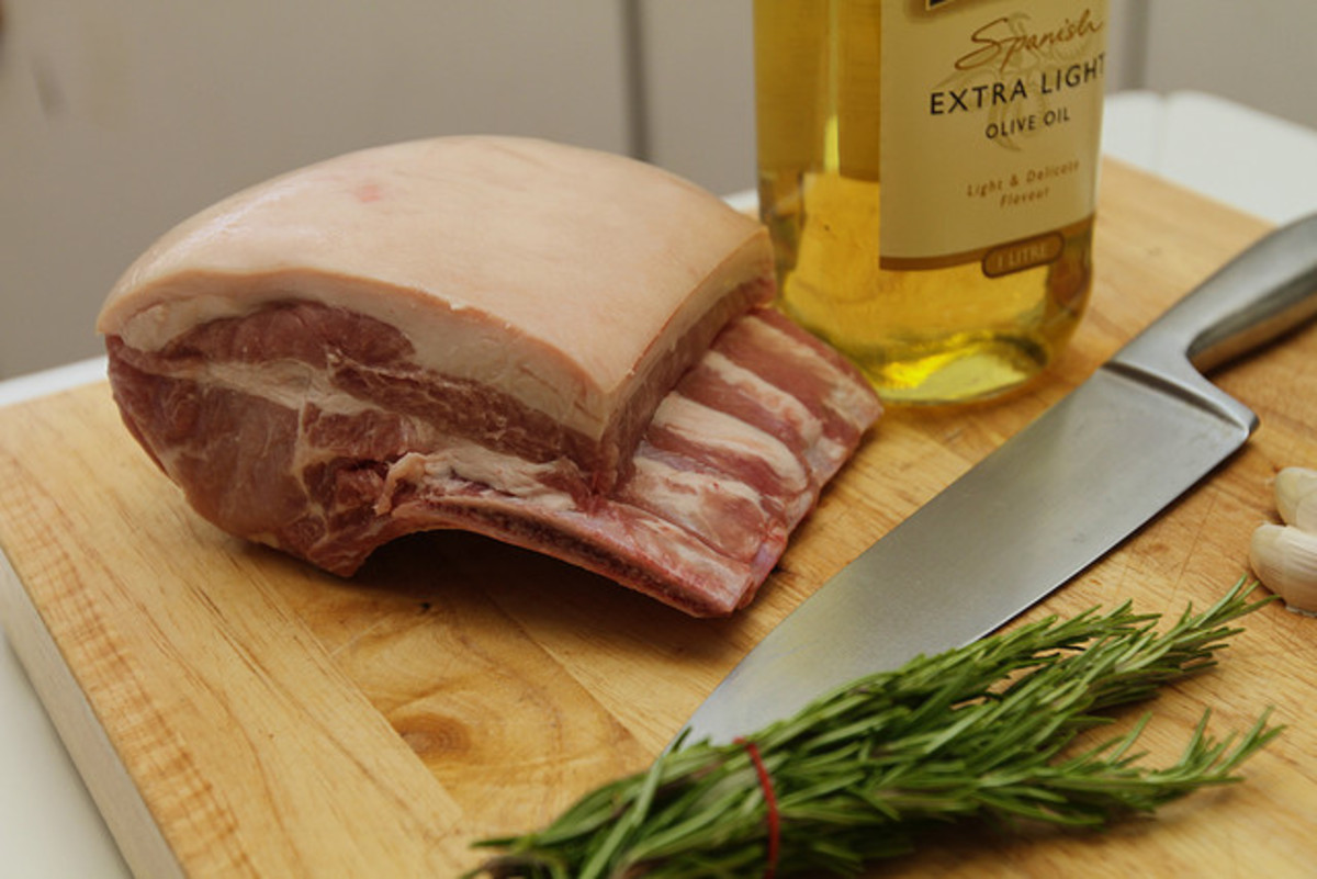How To Cook A Bone In Pork Loin Roast Delishably