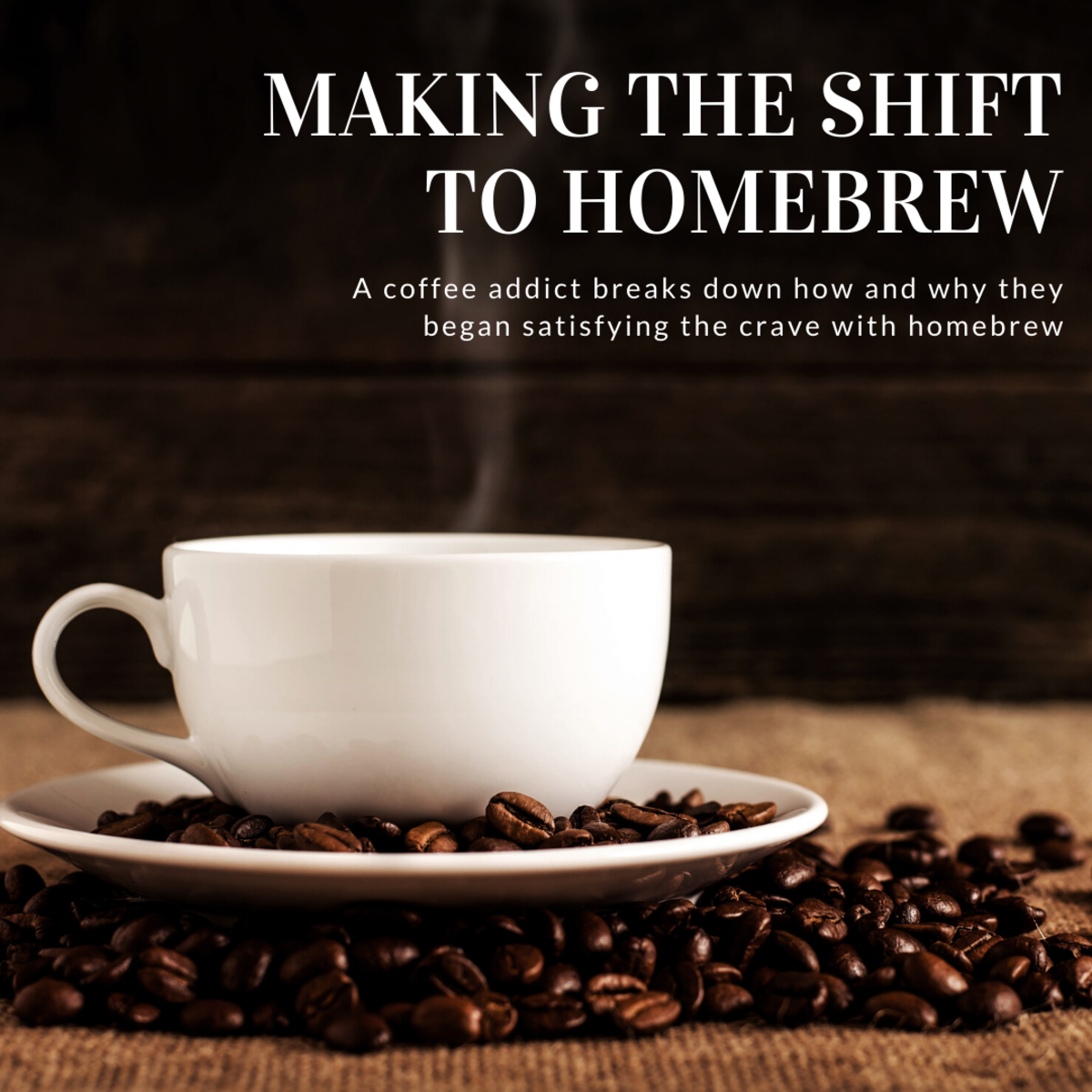 This article will explain how I made the shift to making my own coffee at home—and why I began doing so in the first place.