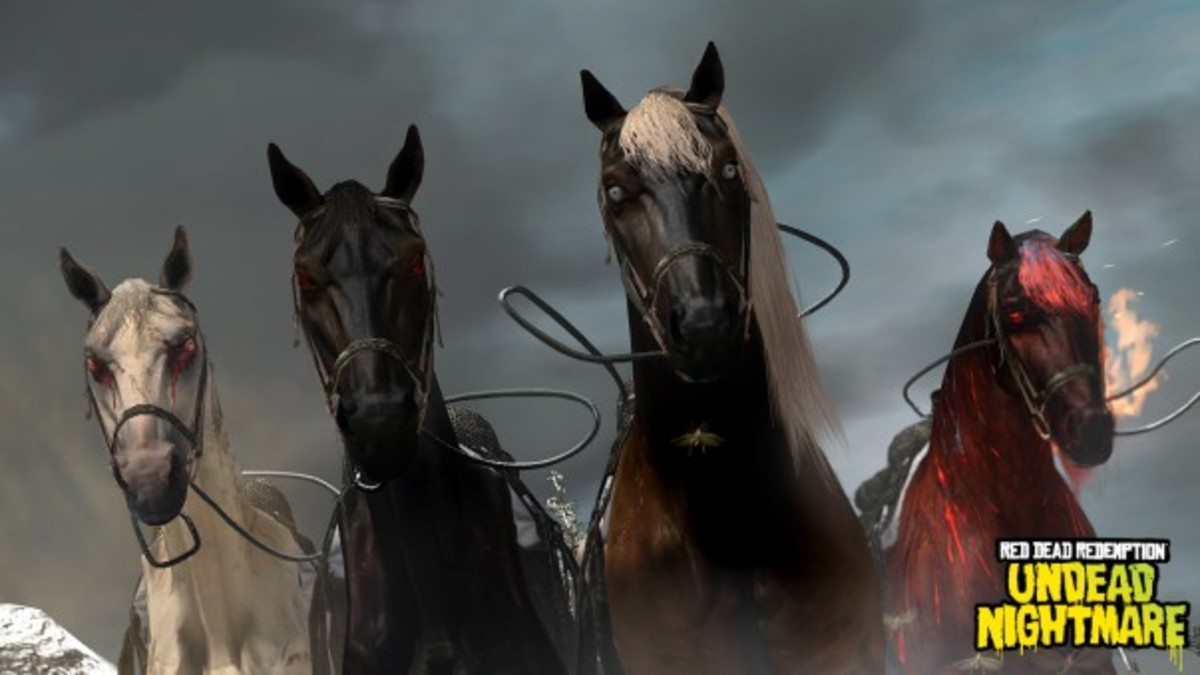 "How to Find the Four Horses of the Apocalypse in ""Red Dead Redemption: Undead Nightmare"""