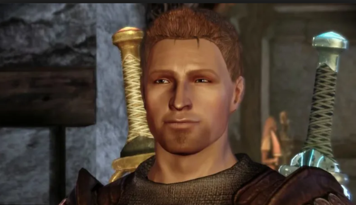 "Alistair as he appears in ""Dragon Age: Origins."""