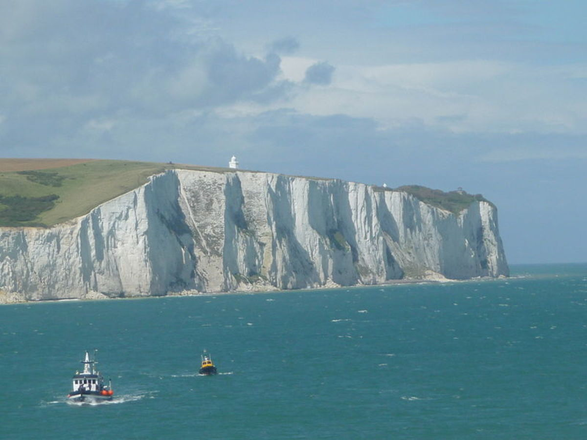 White Cliffs of Dover by Immanuel Giel, Courtesy Wiki Commons