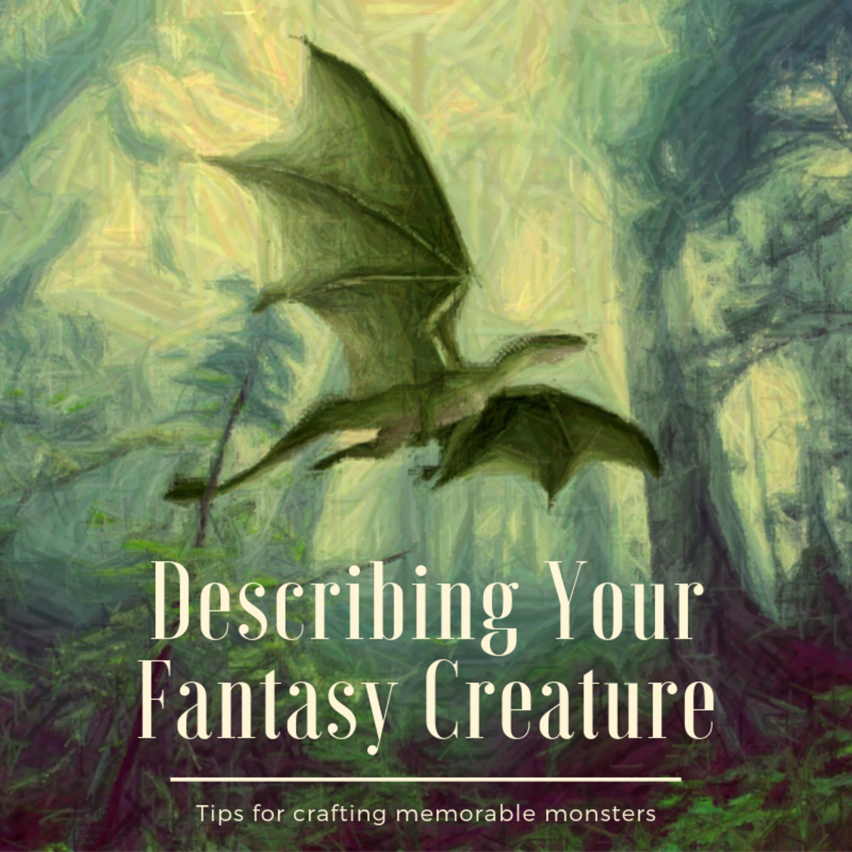 This article will provide you with some guidance on what to think about when crafting your fantasy creature and help you describe its unique characteristics.