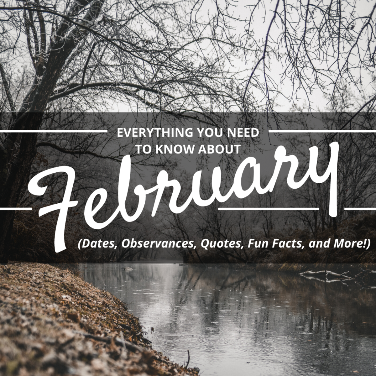 February Quotes, Sayings, Poems, Observances, and Fun Facts