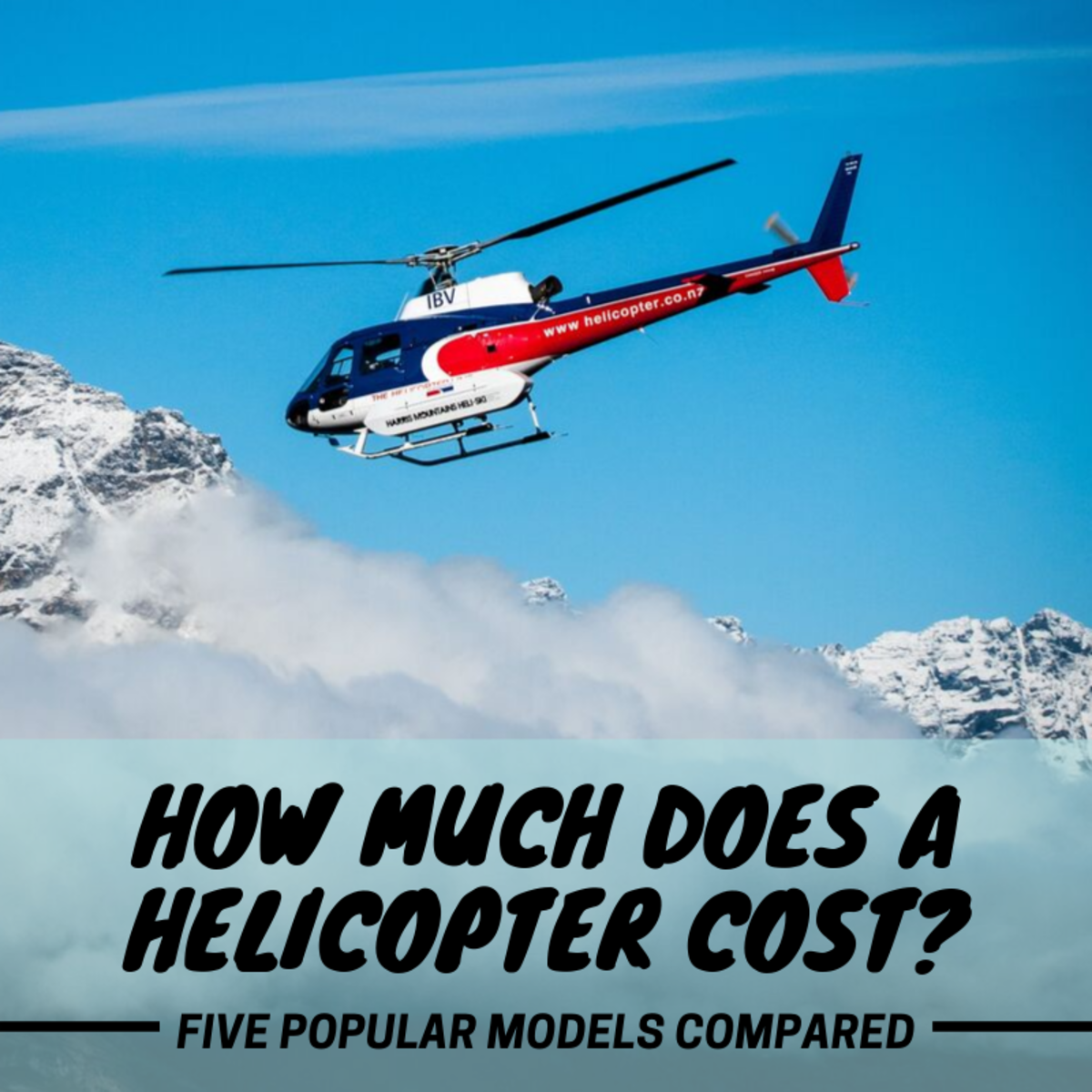 Have you ever wondered how much a new helicopter costs? Here's the low-down.