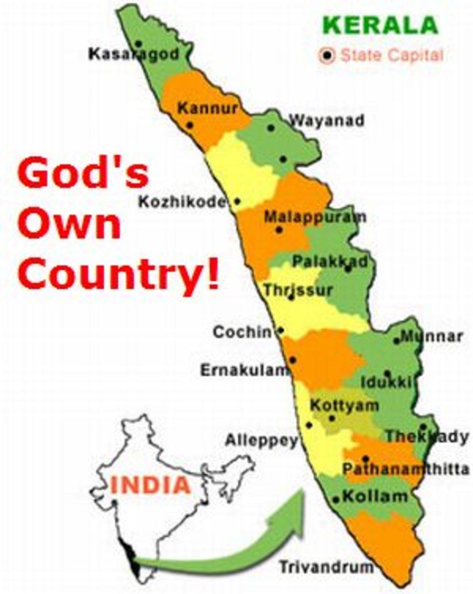 Kerala, A Land full of Water and Greenery