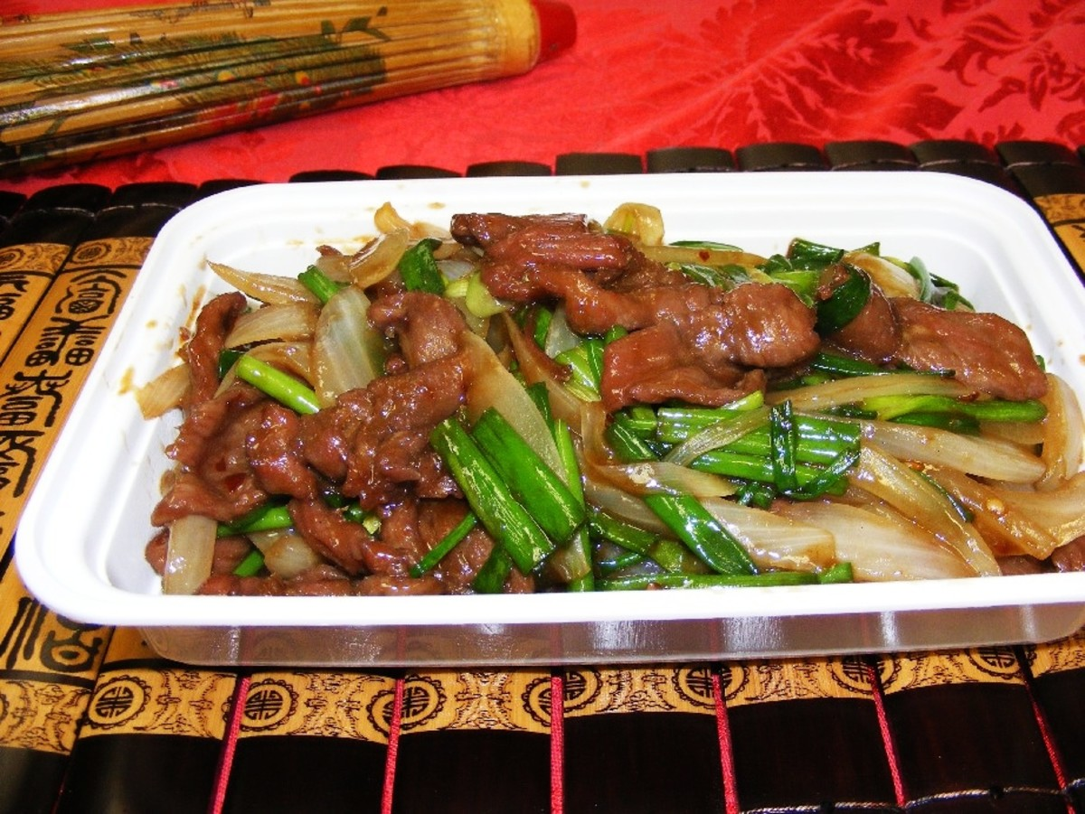 Easy Stir Fry Recipes - Pepper Beef with Bok Choy Recipe