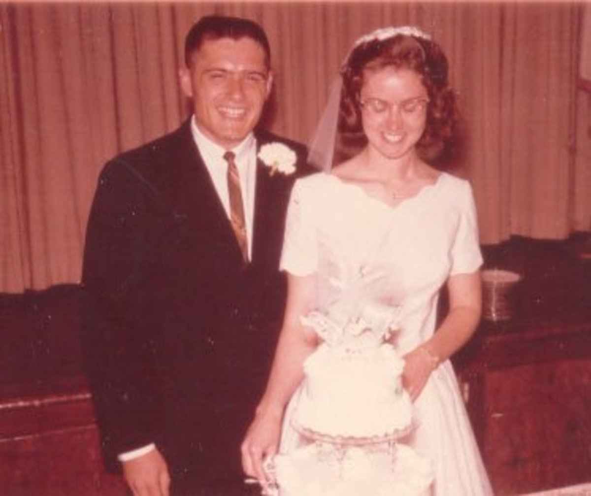 Our wedding, June 20, 1964